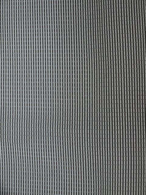 新品 1689 夏着物 大幅値下げ 正絹お仕立て上がり江戸絽小紋 万筋 江戸鼠系_画像6