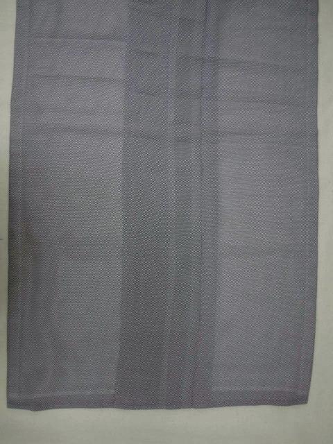 新品 1698 夏着物 大幅値下げ正絹お仕立て上がり江戸絽小紋 行儀柄 濃色系_画像4