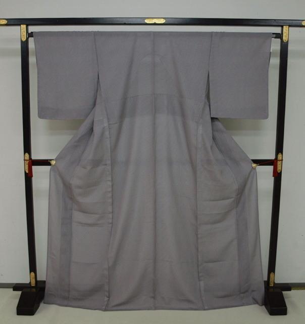 新品 1698 夏着物 大幅値下げ正絹お仕立て上がり江戸絽小紋 行儀柄 濃色系_画像1