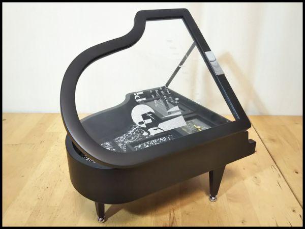 グランド ピアノ 楽器 型 アクセサリー ジュエリー ボックス 宝石箱 オルゴール 機能 箱 付き 未使用 保管品 アンティーク インテリア 飾り_画像7