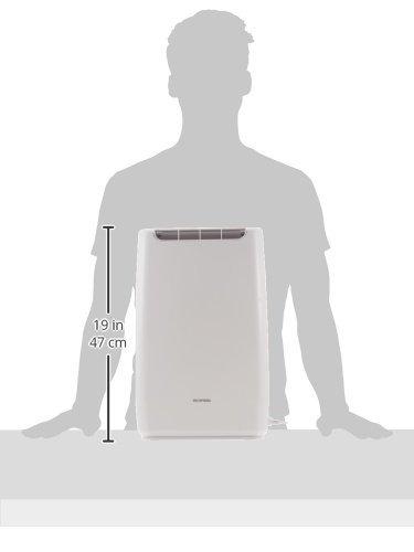 ホワイト アイリスオーヤマ 衣類乾燥コンパクト除湿機 タイマー付 静音設計 除湿量 2.0L デシカント方式 _画像8