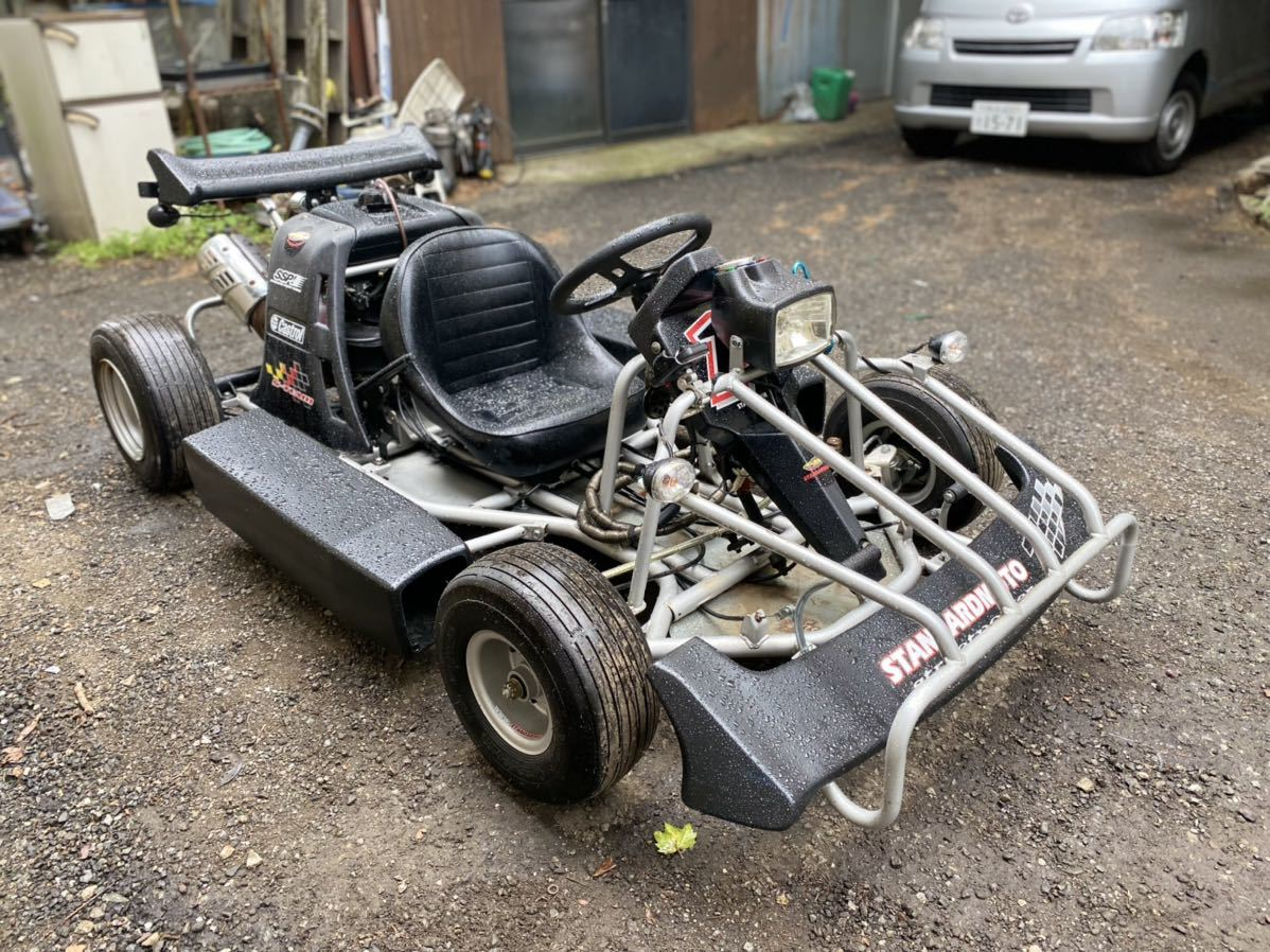 「公道カート 低走行 エンジン絶好調 始動動画有り!返品可能! マリオカート 50cc 速くて楽しいですよ」の画像3