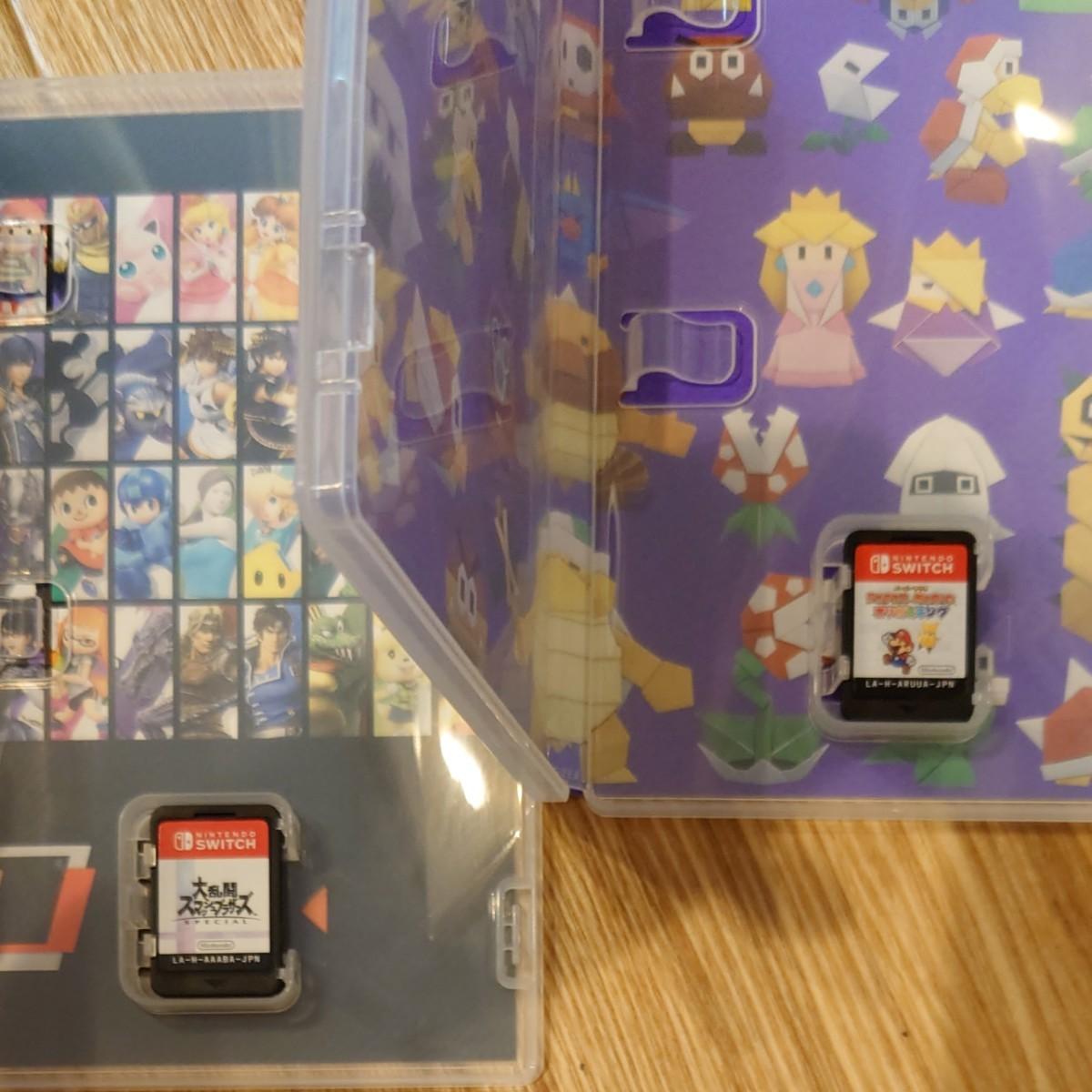 Nintendo Switch 大乱闘スマッシュブラザーズSPECIAL ペーパーマリオ オリガミキング セット