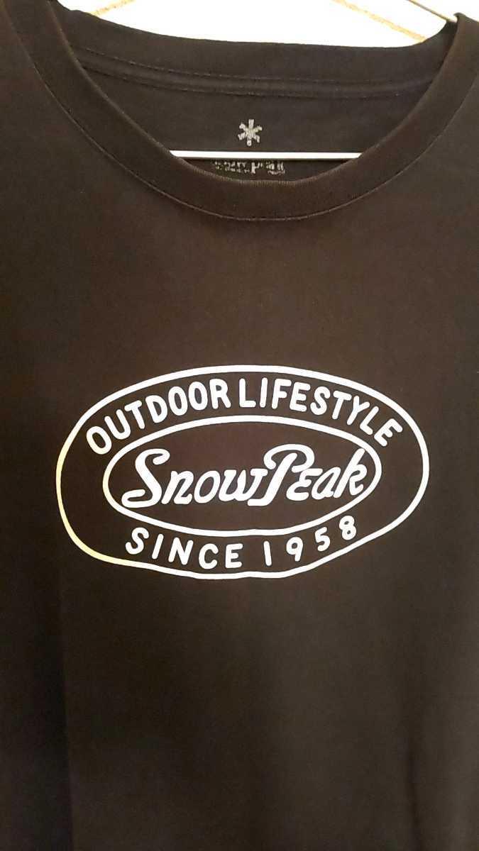 SNOWPEAK スノーピーク 60周年記念ティーシャツ希少モデル!