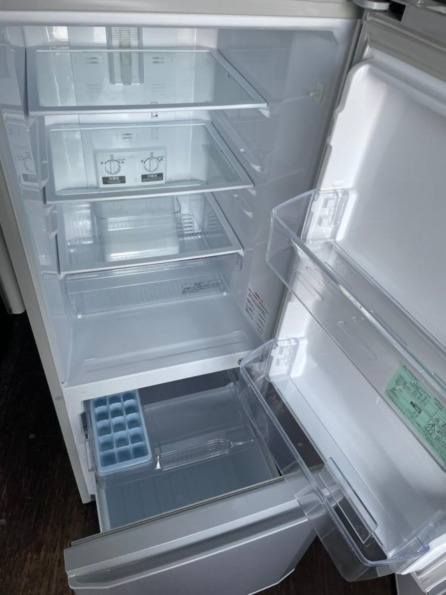 MITSUBISHI 2ドア 冷蔵庫 146L 2019年製 MR-P15D-S