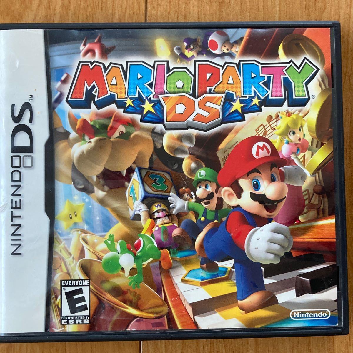 任天堂 マリオパーティDS US版 DSソフト 日本のDSと3DSで使えます