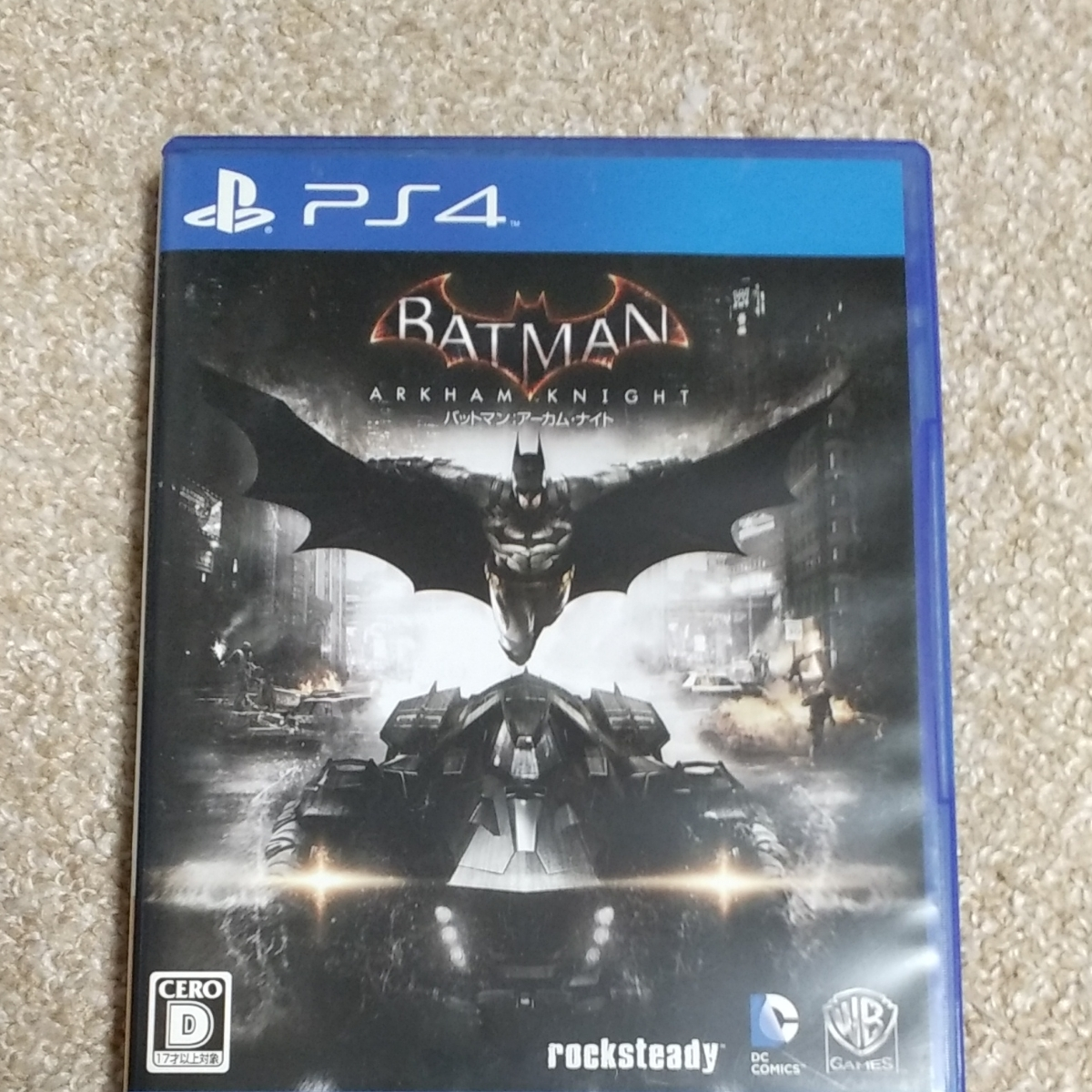 PS4 PS4ソフト バットマンアーカム・ナイト