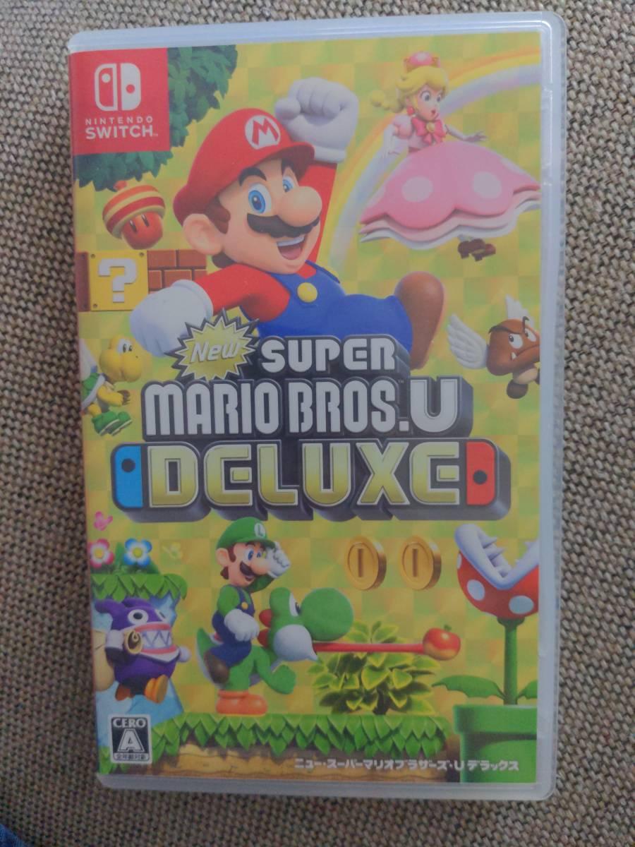 NewスーパーマリオブラザーズU ニンテンドースイッチ Nintendo Switch Switch デラックス スーパーマリオ