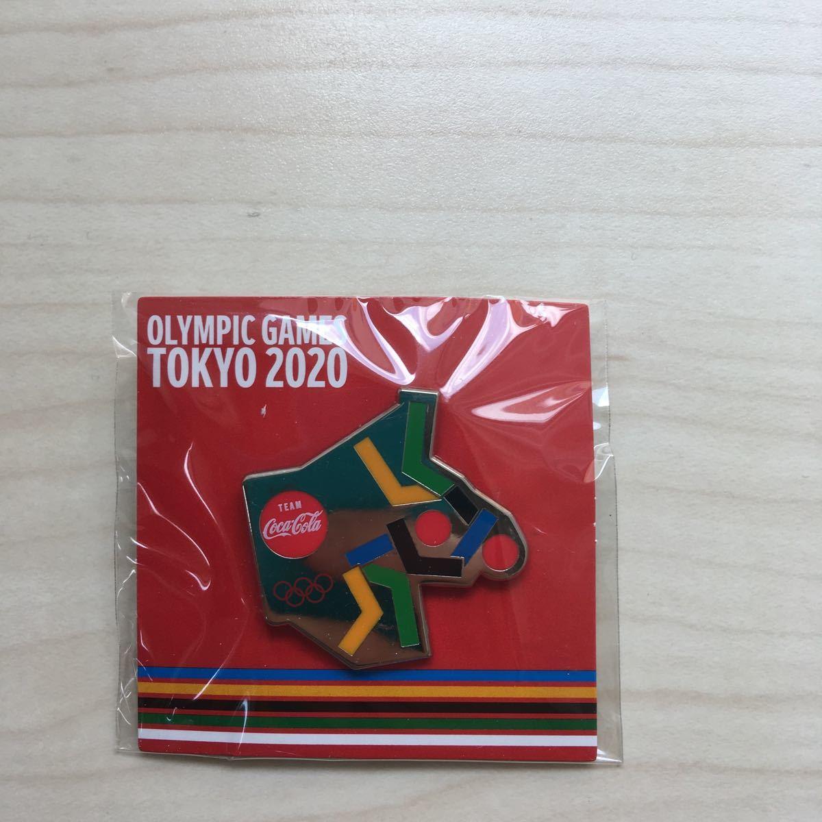 東京オリンピック ピンバッジ 柔道 コカコーラ 2020 ピントレーディング