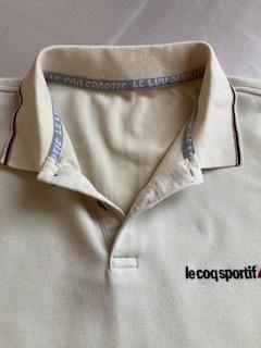 ルコック le coq sportif 長袖シャツ オフホワイト 秋冬向き_画像5
