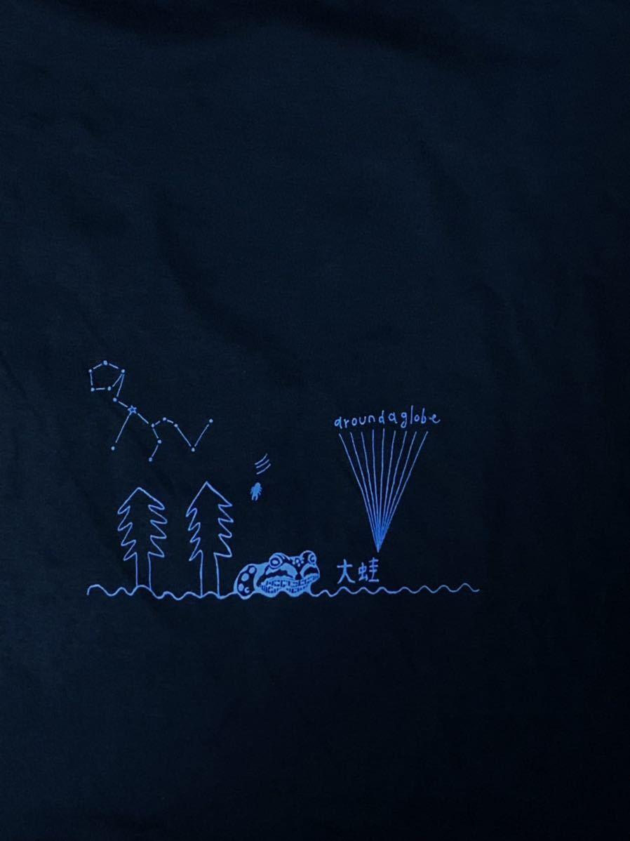 空飛ぶパキポディウム  Lサイズ 半袖Tシャツ aroundaglobe 鯨 クジラ whale コーデックス 植物 カエル グラキリス_画像6