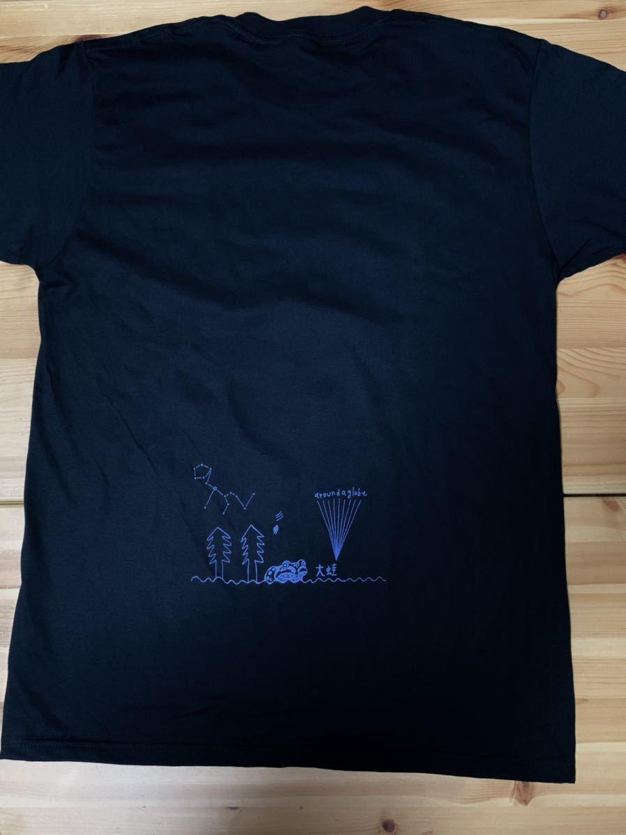 空飛ぶパキポディウム  Lサイズ 半袖Tシャツ aroundaglobe 鯨 クジラ whale コーデックス 植物 カエル グラキリス_画像5