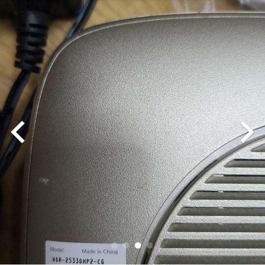 BUFFALO 無線LANルーター WiFi