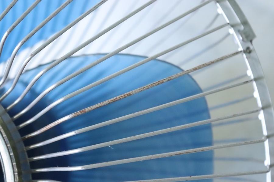 TB526日立 壁掛け扇風機 B-30ME型 ジャンク◇昭和レトロ/家電/空調/ファン/送風/現状品/パーツ取り/HITACHI/古道具タグボート_画像8