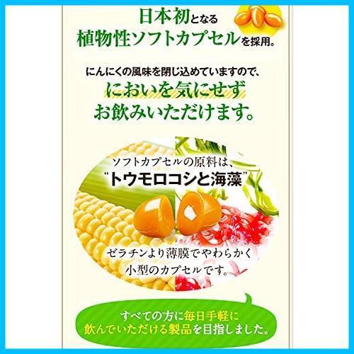 健康家族公式 伝統にんにく卵黄 31粒入 (1粒405mg) 有機にんにく 有精卵黄 アマニ油_画像8