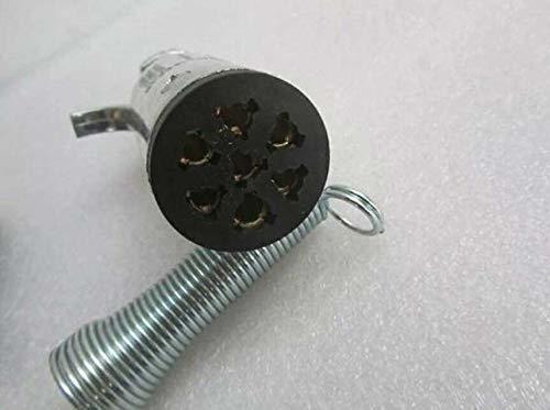 新品01 JSTwig 7極 トレーラー 7ピン 電極配線 接合カプラー コネクター ヒッチ ソケット セット トレQCOP_画像3