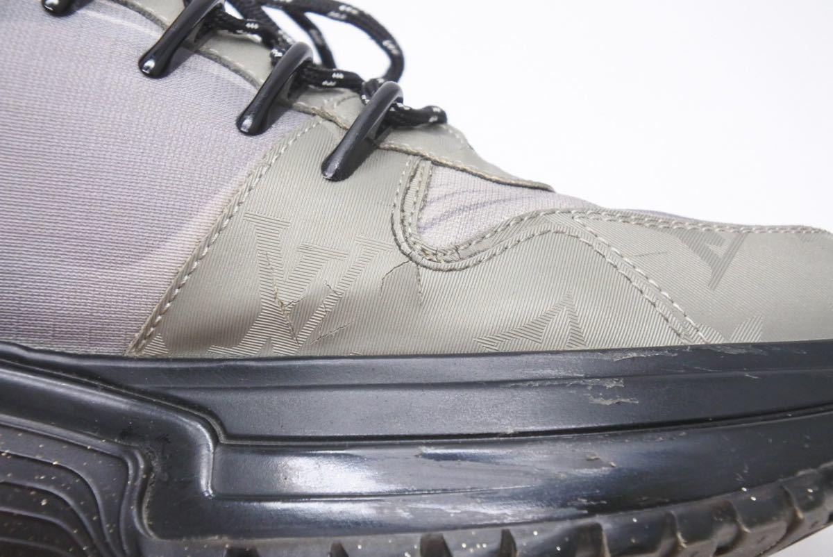 LOUIS VUITTON ルイヴィトン スニーカー シューズ 靴 ランアウェイパルスライン サイズ5 モノグラム ブラック 中古 32138 正規品_画像8