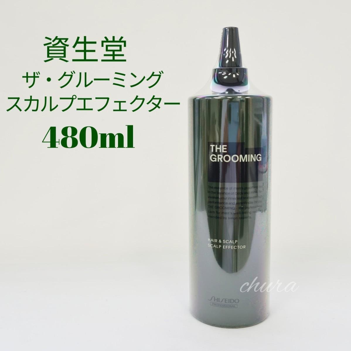 限定セール!【資生堂】ザ・グルーミング  スカルプエフェクター480ml詰め替え用