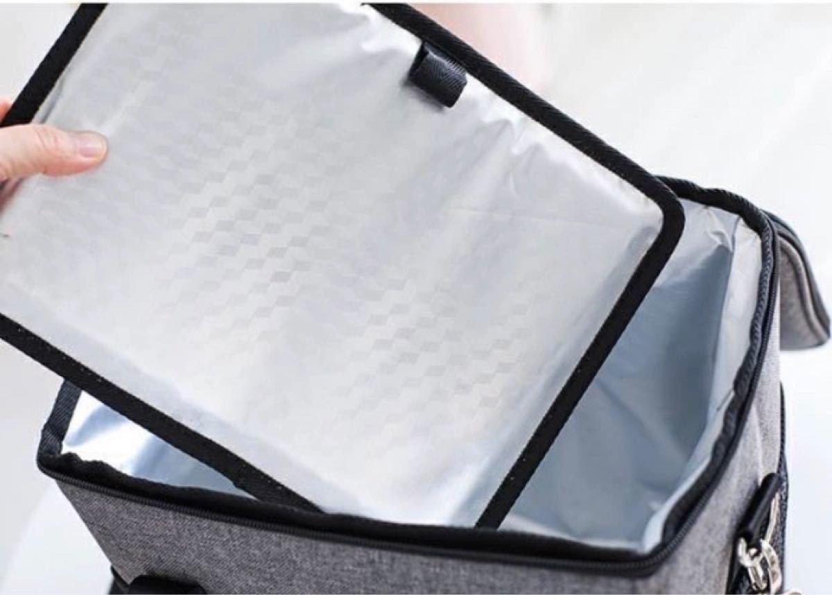 クーラーバッグ 容量18L  保冷 保温 防水 軽い ソフトクーラーバック 大容量 クーラーボックス