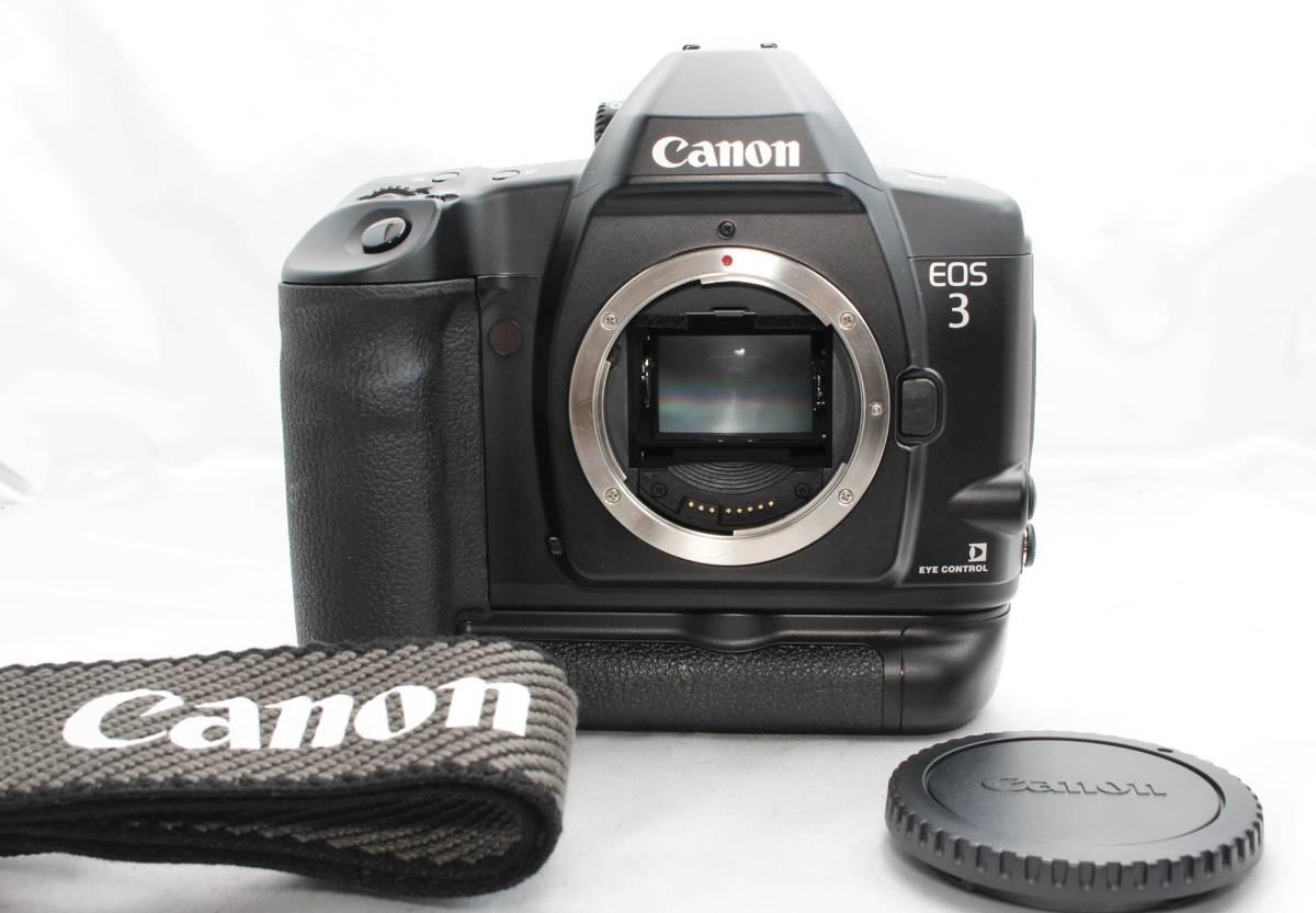 ★【限定!新品級 動作確認済み】 Canon EOS 3 超人気フィルムカメラ