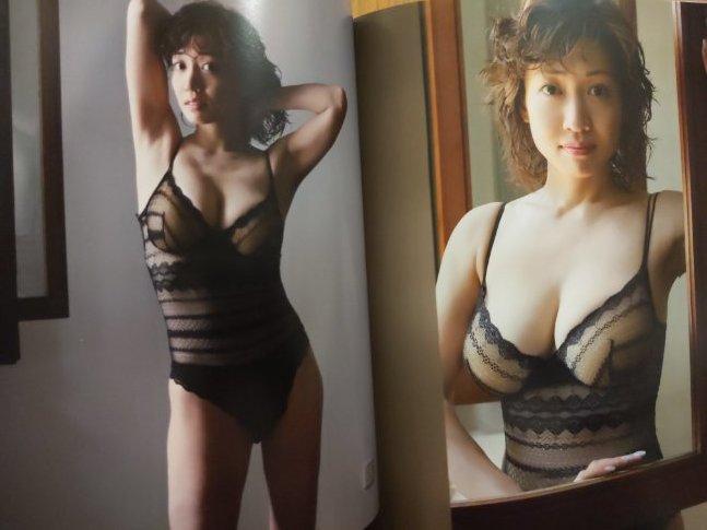 細川ふみえ 写真集 フェミニン Feminine:【中古品】_画像5