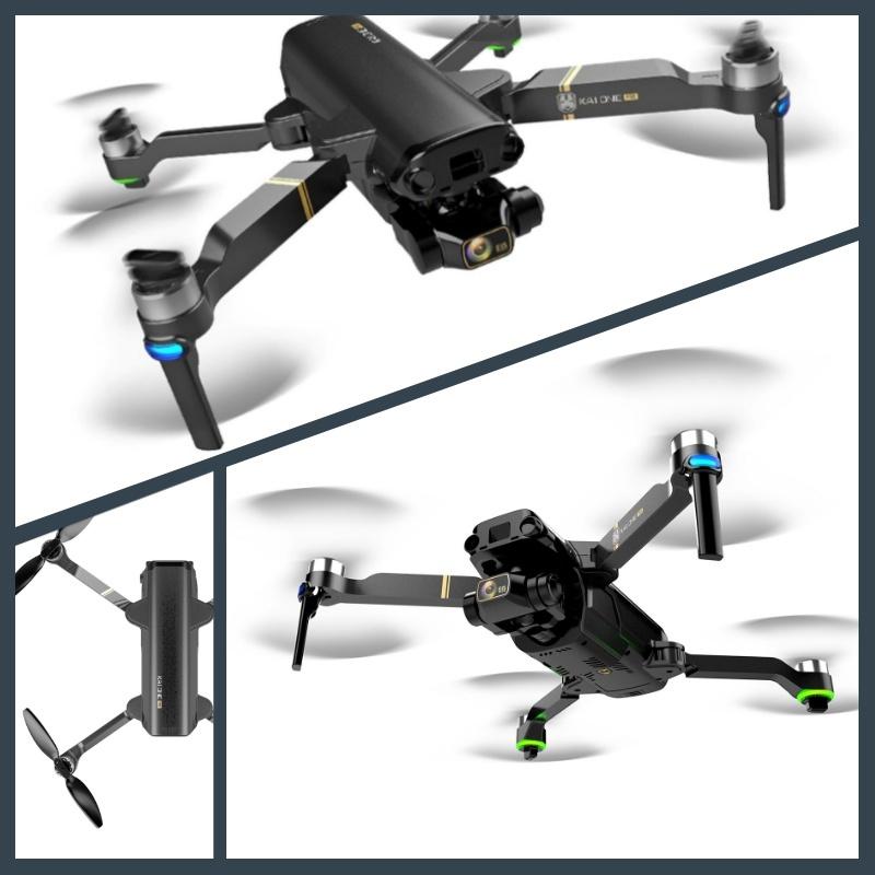 【ケース付】KAI ONE PRO 【8K!!】 カメラ付き ドローン RSプロダクト 高画質 ズーム機能 ブラシレスモーター 折りたたみ 小型 コンパクト