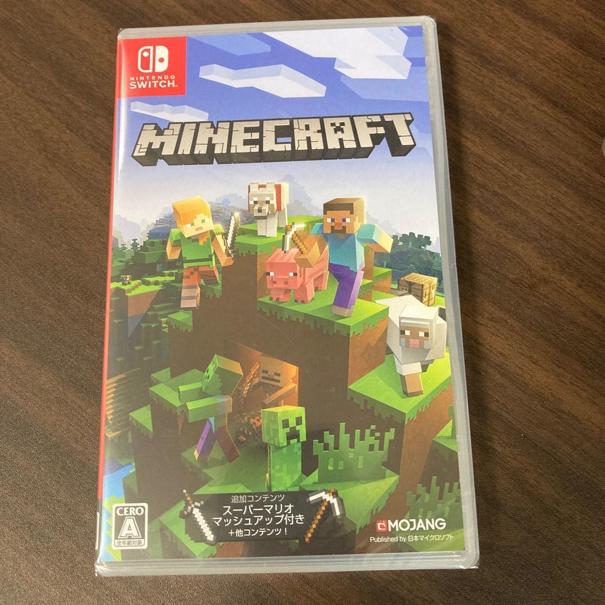 Minecraft Nintendo Switch スイッチソフト