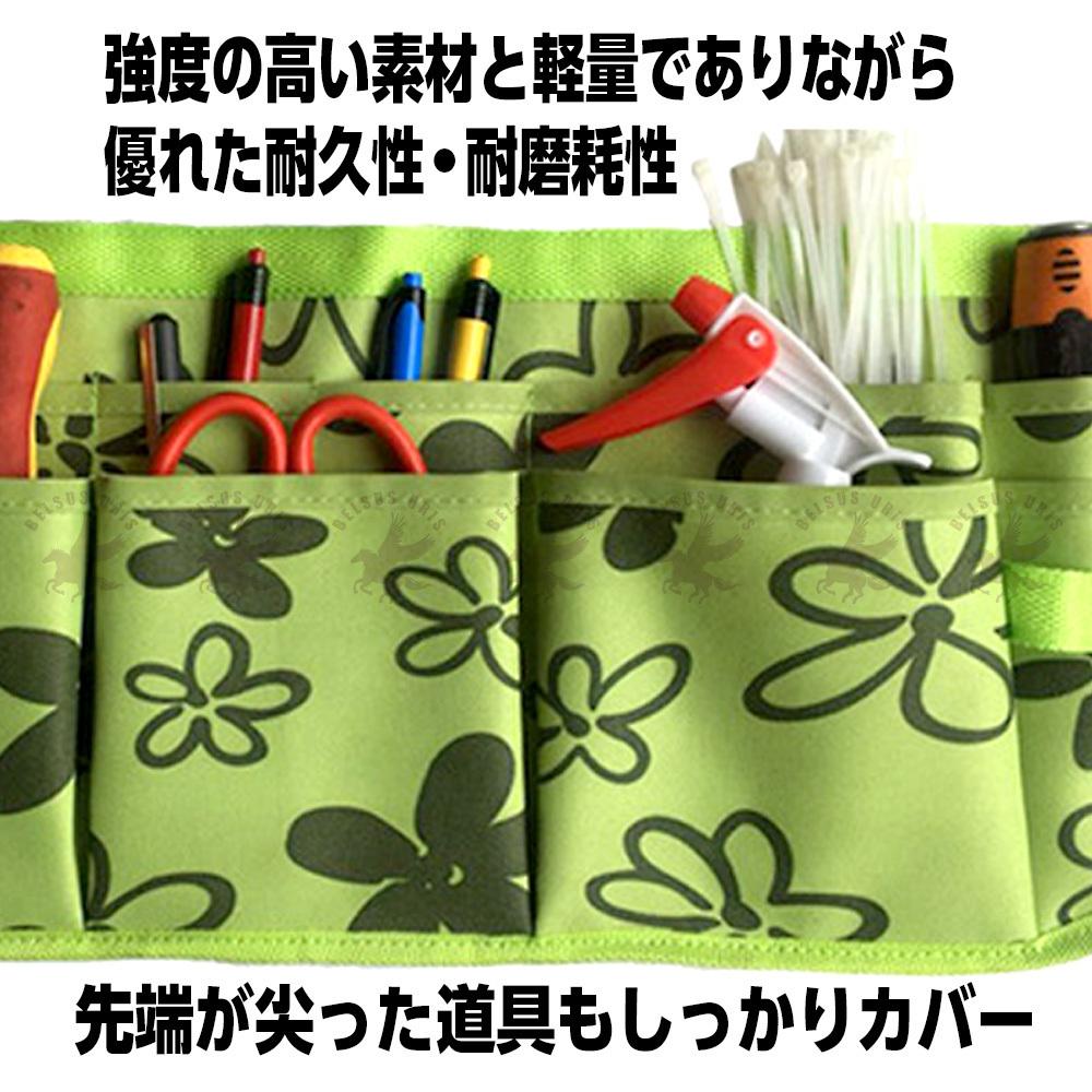 腰袋 ベルト 大工 かっこいい ツールバッグ 工具 腰 ウエストバッグ 多機能 収納バッグ 作業腰袋 軽量 ブラウン 送料無料_画像4