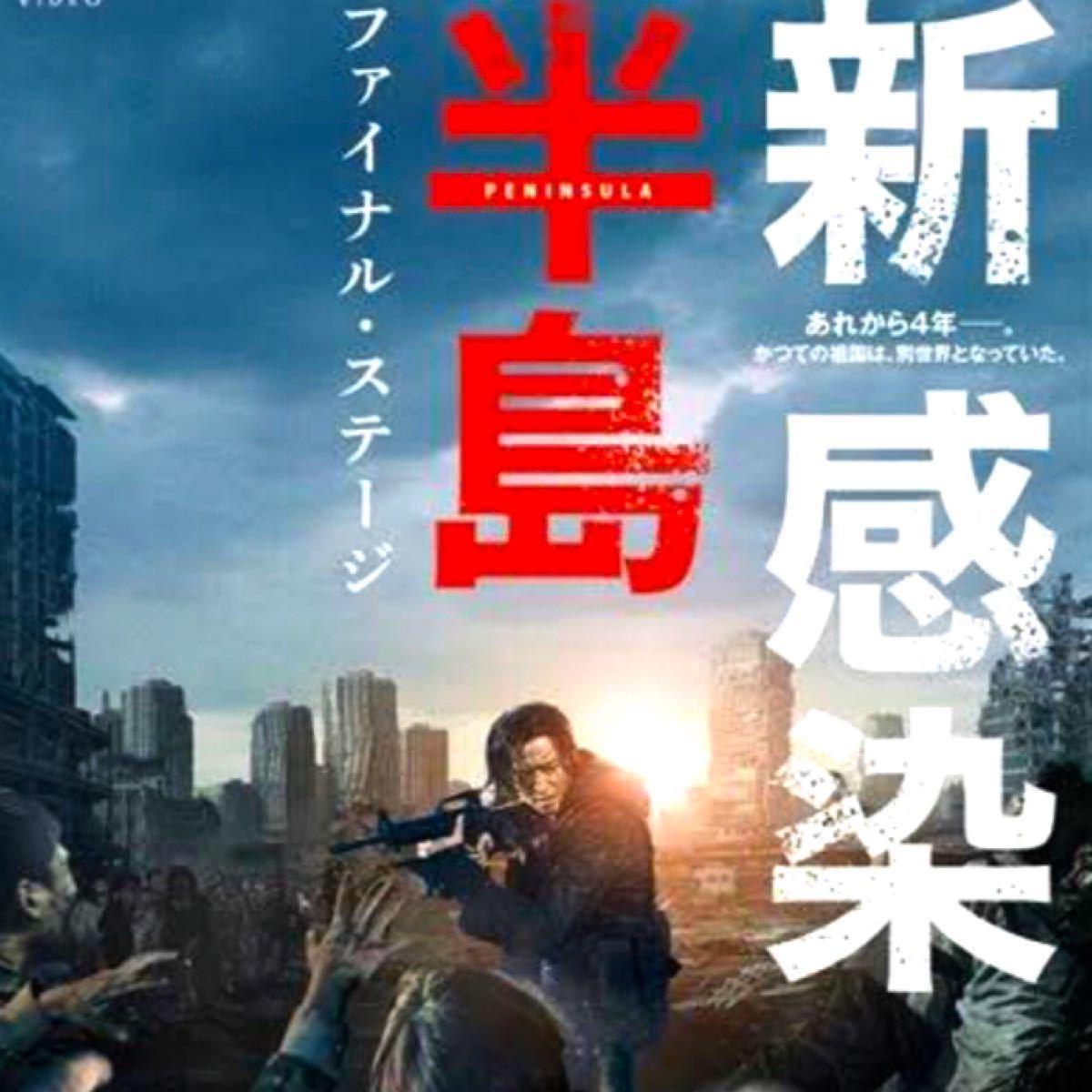 韓国映画  新感染  半島  ファイナル・ステージ  カン・ドンウォン  DVD  日本語吹替有り  レーベル有り