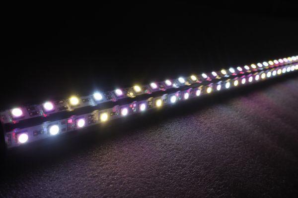 新発売 桃財龍灯 アロワナ ピンクゴールド 水中照明 LED 2列 ライト アクアリウム 金龍 大型水槽 150cm水槽用 でんらい PG-150EX_画像10