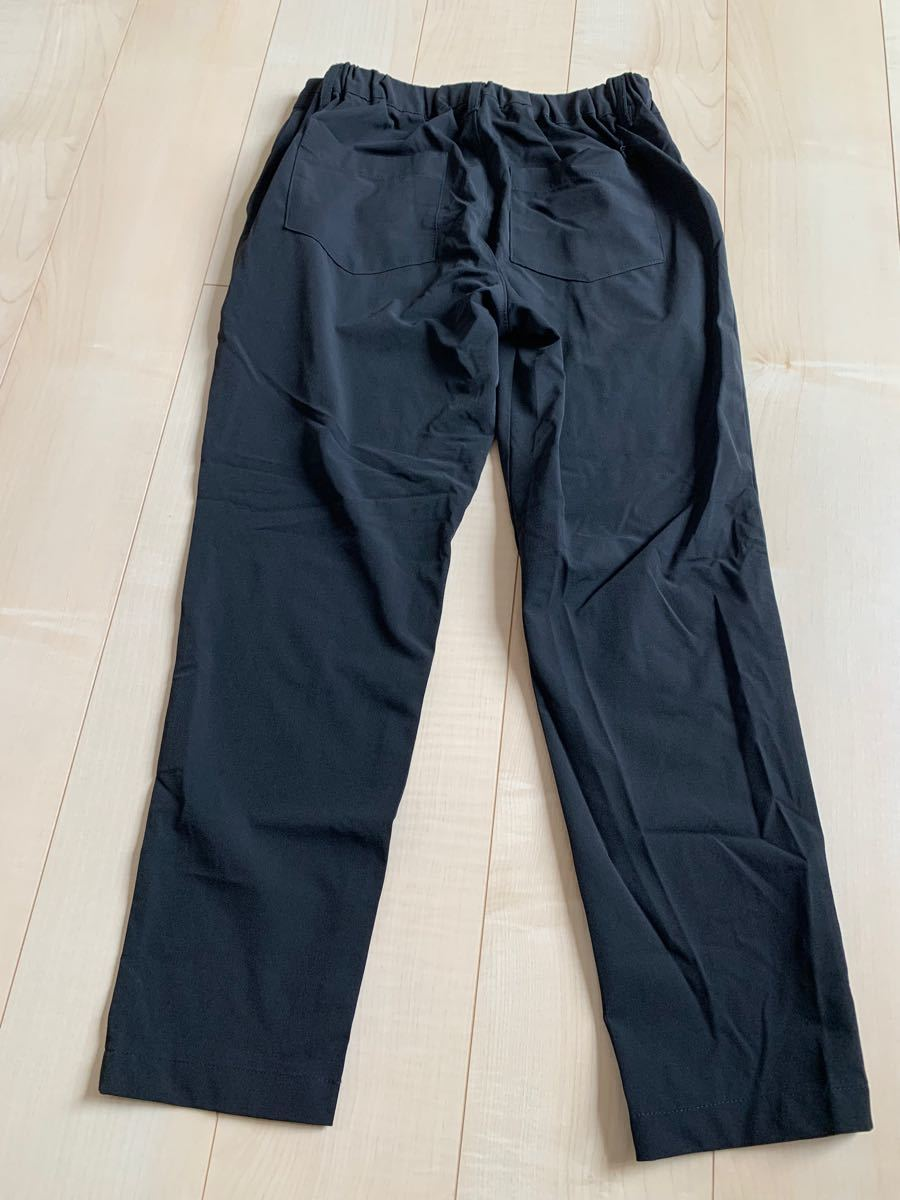トレーニングウェア パンツ スポーツ ヨガ 黒 ブラック 9分丈 しまむら テーパードパンツ