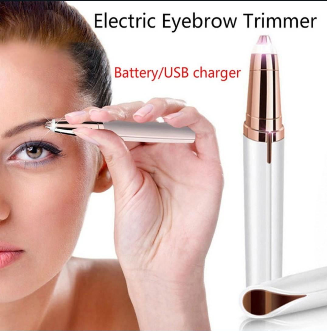 電動眉毛トリマー、充電USB