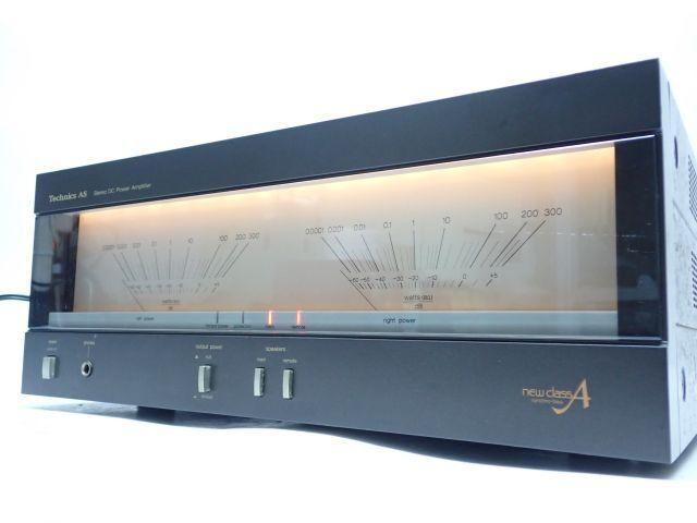 Technics SE-A5 テクニクス リニアフィードバック回路搭載 ステレオパワーアンプ 動作品 ♪ 61BA3-1