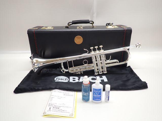 【美品】Bach/Vincent Bach バック/ヴィンセントバック トランペット Stradivarius 180ML 37 SP 純正ハードケース/保証書付 ∬ 61BA6-1