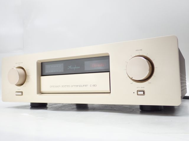 Accuphase コントロール/プリアンプ C-290 + AD-290 フォノイコライザーオプションボード搭載 アキュフェーズ ¶ 61BF3-9