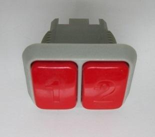 【新品/未使用】大花火 ビーマックス サンダーV 1/2ベットボタン アルゼ/ユニバーサル 家スロット 部品 パーツ ボタン】_画像2