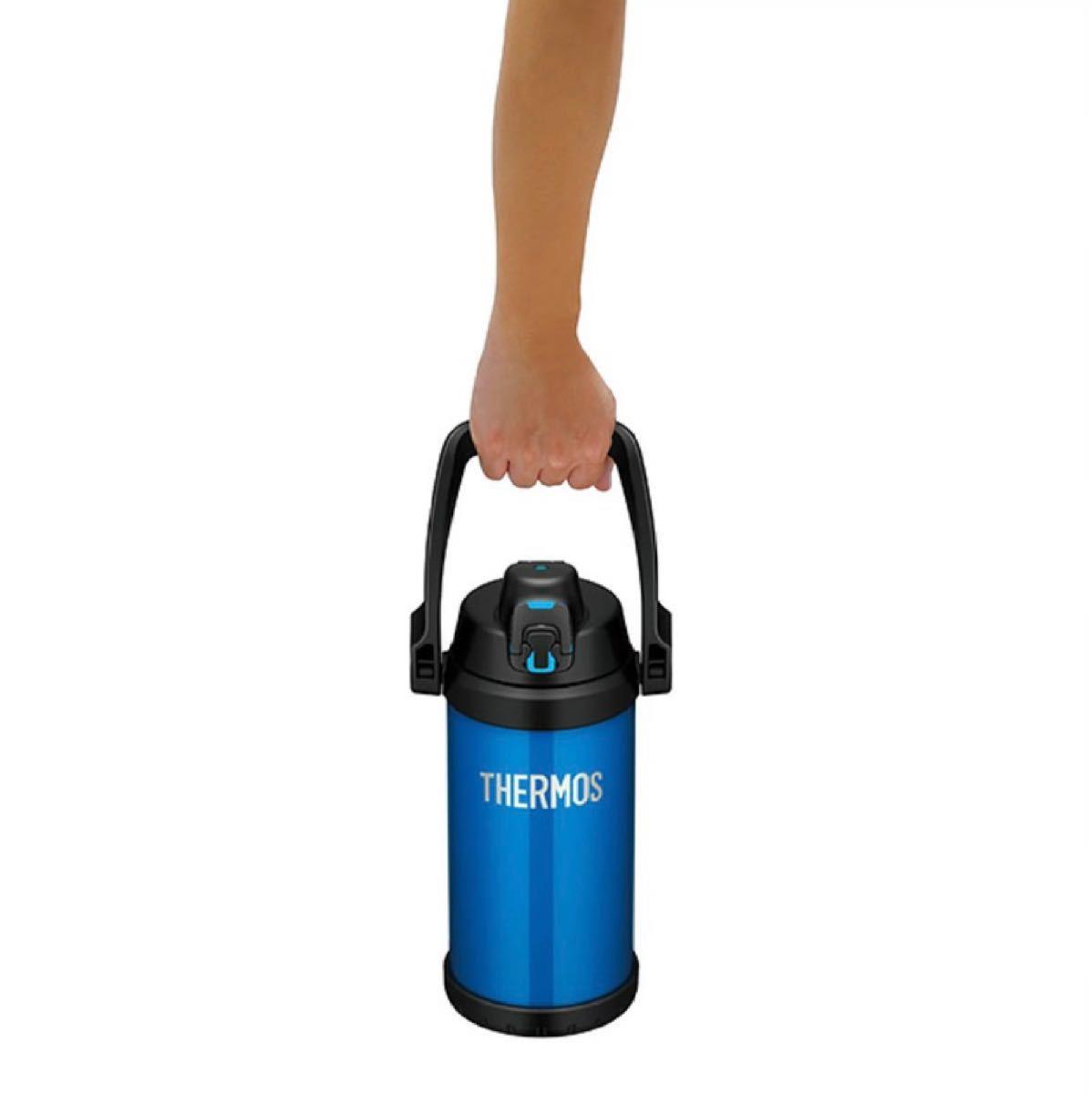 サーモス 水筒 真空断熱スポーツジャグ 2リットル  FFV-2000 ICB アイスブルー 保冷専用 THERMOS