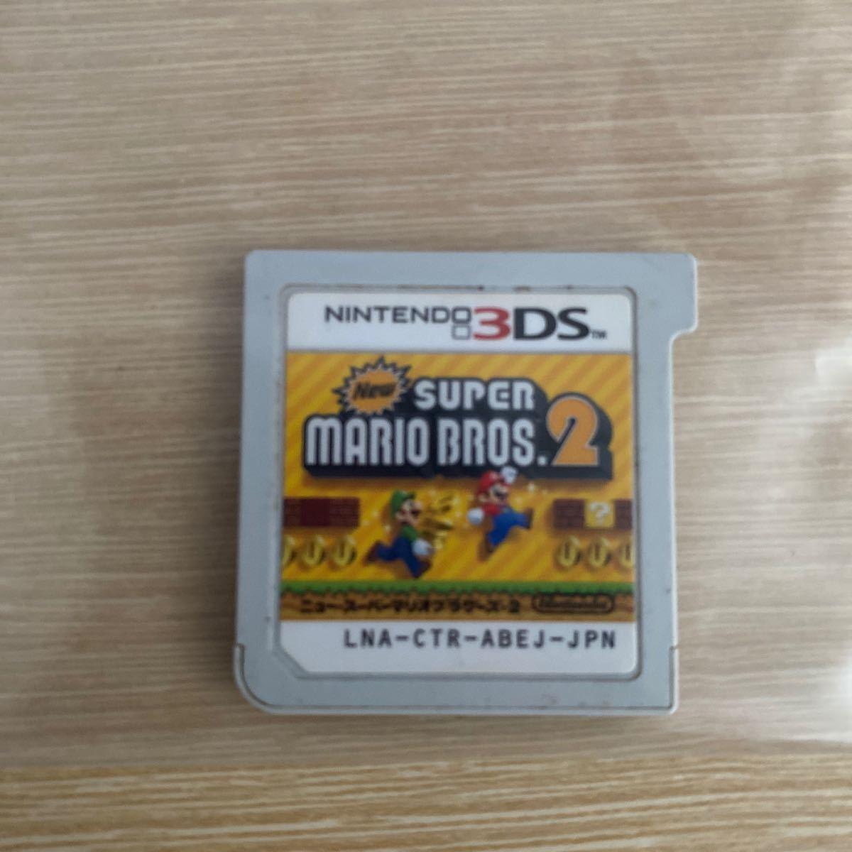 ニュースーパーマリオブラザーズ2  3DSソフト