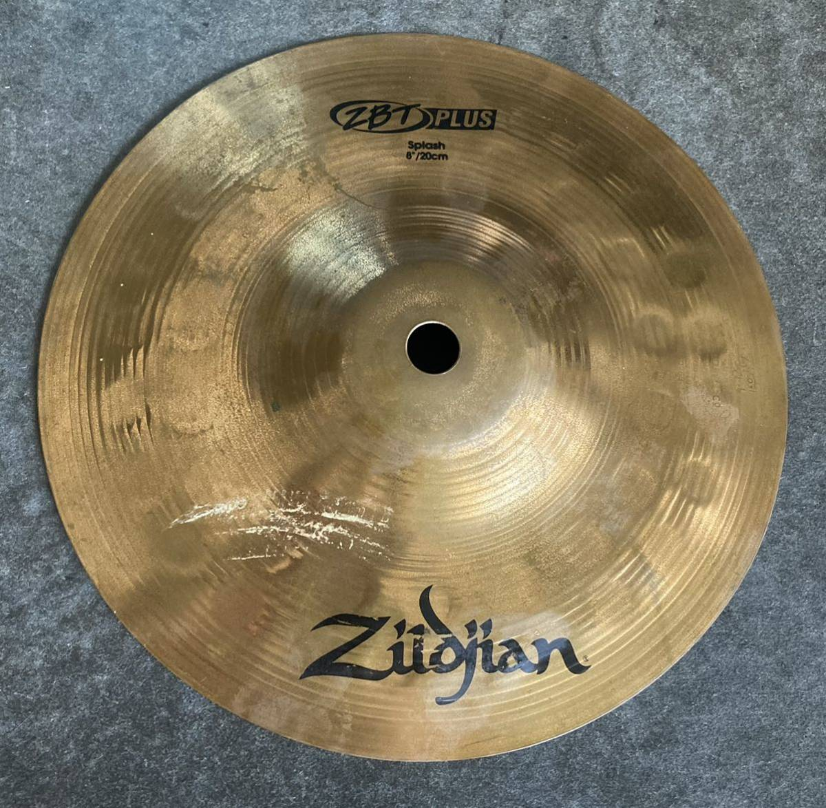 Zildjian ジルジャン ZBT PLUS 20 ハイハット ジャンク品 送料無料_画像1