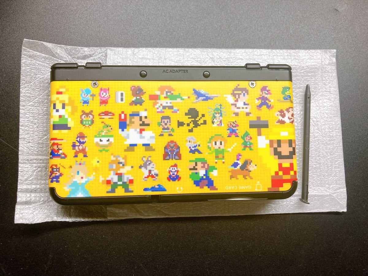 <希少>スーパーマリオブラザーズ30周年 マリオメーカー着せ替え3DS