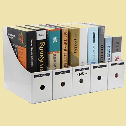 新品大人気  未使用ボックス TOSSOW N-2R オフィス用品 ホワイト a4 紙立てスタンド 収納ボックス ボTLKW_画像1