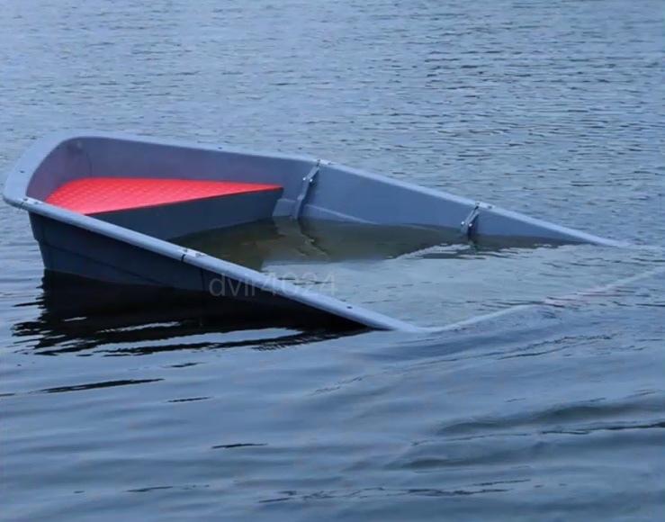 「新入荷☆高品質 4分割ボート 3.0メートル フィッシングボート 船外機可 車載 釣り 未使用 ゴムボート」の画像2