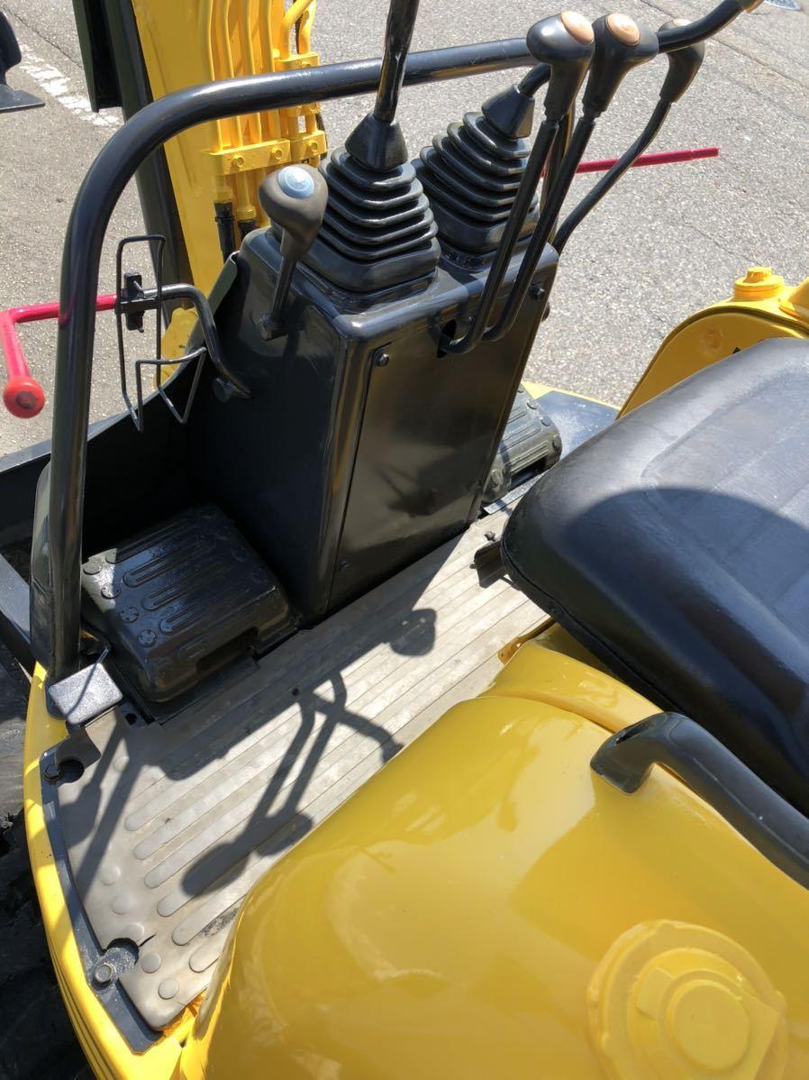 「コマツ PC10FR クローラー新品 1t 油圧ショベル ミニユンボ 」の画像2