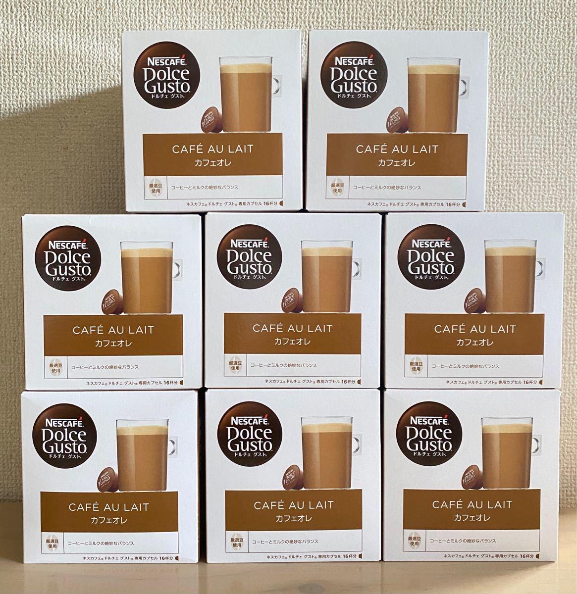 ネスカフェ ドルチェ グスト カフェオレ 16杯分 8箱