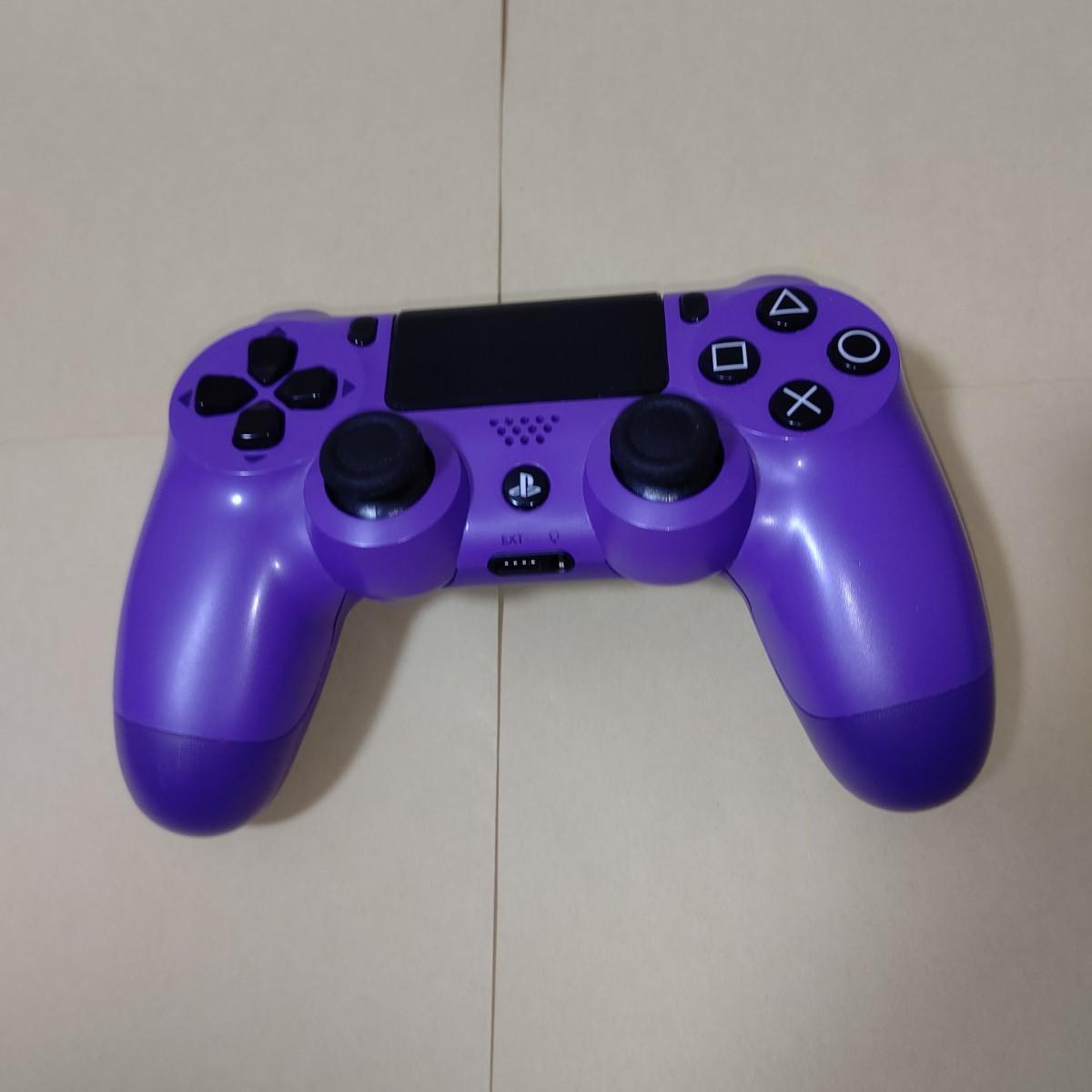 ワイヤレスコントローラー(DUALSHOCK 4) エレクトリック・パープル デュアルショック PS4