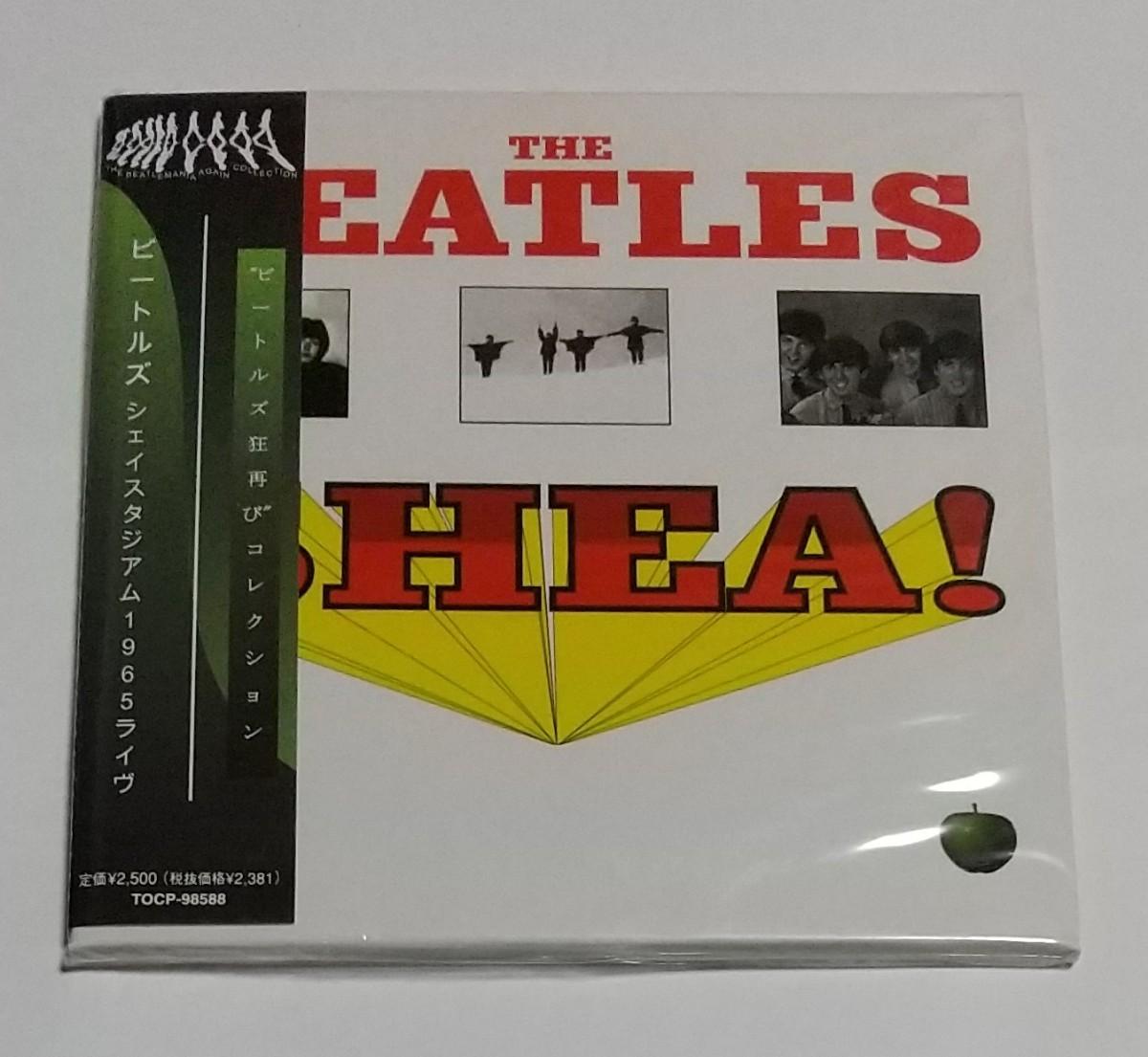 CD輸入盤リプロ盤 紙ジャケ THE BEATLES - Live At Shea Stadium 1965  +13