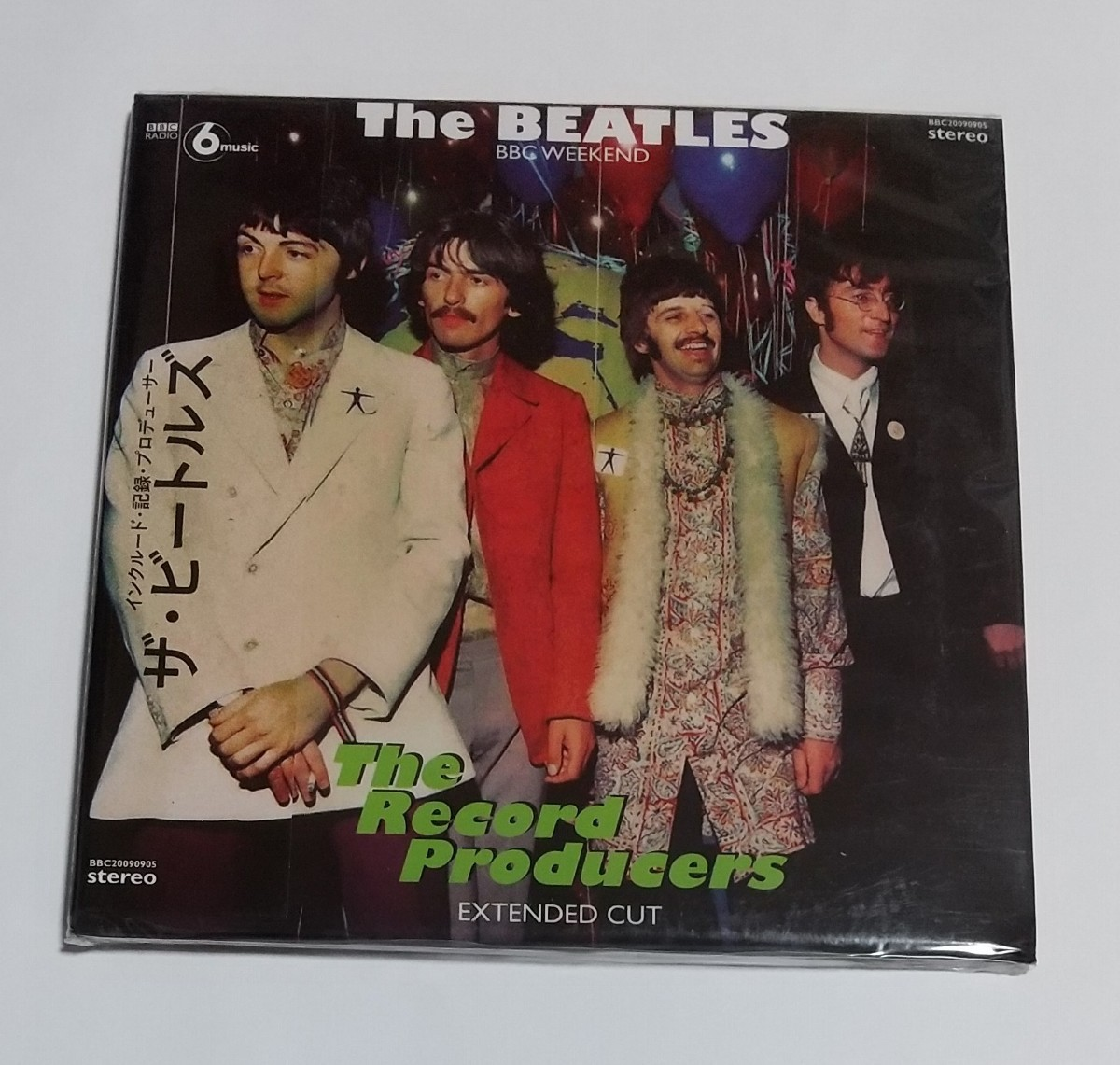 CD輸入盤リプロ盤 THE BEATLES / THE RECORD PRODUCERS EXTENDED CUT