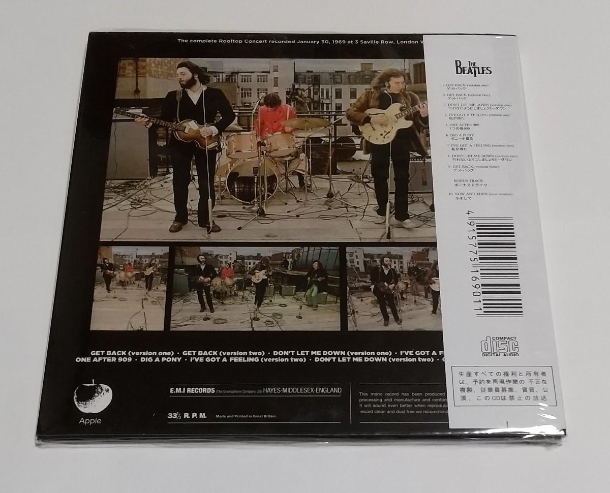 CD輸入盤リプロ盤 紙ジャケ The Beatles Last Licks Live The Rooftop Concert