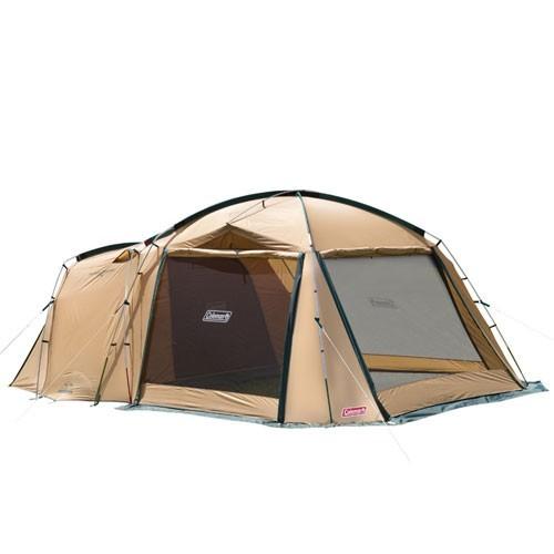 コールマンタフスクリーン2ルームハウス 定番グリーン テント キャンプ b0825