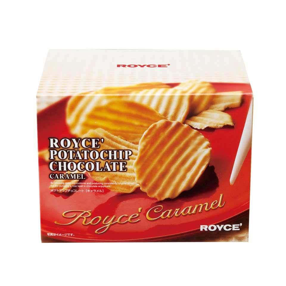 ロイズ 【北海道銘菓】 ポテトチップチョコレート [キャラメル] 他北海道お土産多数出品中 ROYCE'_画像1